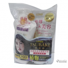 TSUBAKI SHAMPOO DAMAGE CARE 500 ML+REFILL PACK 350 ML 4901872071050
