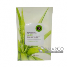 THE SAEM NATURAL ALOE MASK SHEET 8806164115527