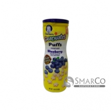 015000045296 NESTLE GERBER GRADUATES PUFF BLUEBERRY 1.48 OZ