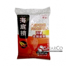 6942032700319 HAI DI LAO HOT POT SEASONING SPICY 220 GR