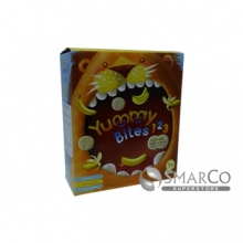 8993531772565 YUMMY BITES 123 BANANA CRACKERS YBRC15 50 GR