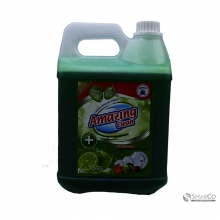 AMASING LIQUID DISWASH  LIME JERIGEN 4000 ML 18 x 29 1011030010015 8997003120311