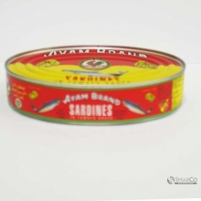 AYAM BRAND SARDINES IN TOMATO SAUCE OVAL 1014140010133 9556041601214