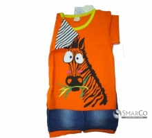 BABY WEAR ZEBRA ORANGE CELANA BIRU KNL (KNLEX 2011) 24612500