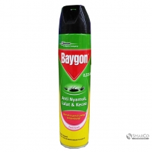 BAYGON AEROSOL YELLOW FRESH SCENT 600 ML 1011040020043 8998899001166