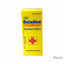 BETADINE 60 ML 1016050010021 8992843100608