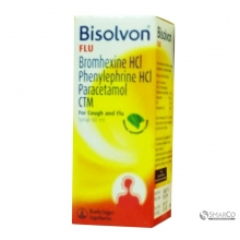 BISOLVON FLU SYR 60 ML 60 ML 1016020020020 8995228500154