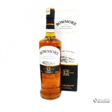 BOWMORE SINGLE MALT 12 YEAR 700 ML 5010496080818