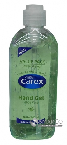 CAREX-HAND-GEL-ALOEVERA-(PUMP)  1015040020038