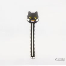 CARTOON CAT SHAPE CABLE WINDER BLACK 10129149 8992017309356