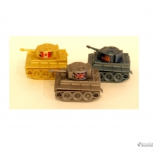 CARTOON TANK SHAPED PENCIL SHARPENER10012508 2024010010789 8992017307697