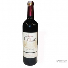 CHATEAU DE CALLAC GRAVES 750 ML 1012060040392 24165475