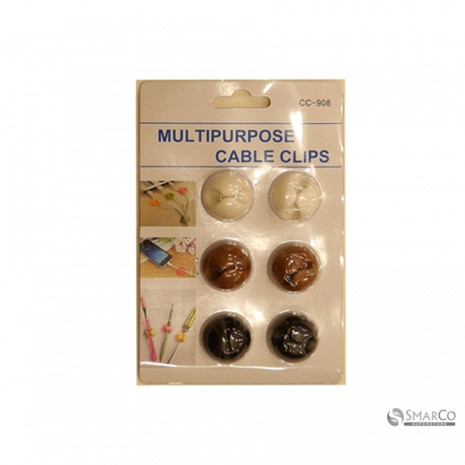 CREATIVE LIFE MULTIPURPOSE CABLE CLIPS 10206781 2024010010703 8992017312127