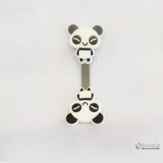 CUTE PANDA SHAPE CABLE WINDER BLACK WHITE 10129153  8992017309363