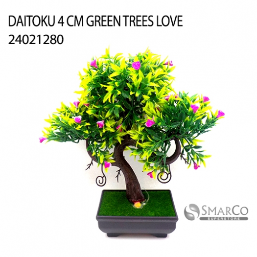 DAITOKU 4 CM GREEN TREES LOVE 24021280