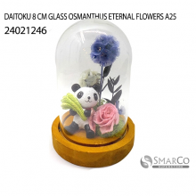 DAITOKU 8 CM GLASS OSMANTHUS ETERNAL FLOWERS A25 24021246