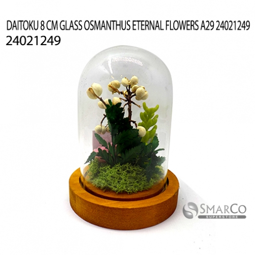 DAITOKU 8 CM GLASS OSMANTHUS ETERNAL FLOWERS A29 24021249
