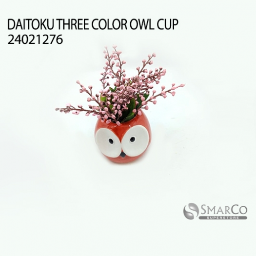 DAITOKU THREE COLOR OWL CUP 24021276