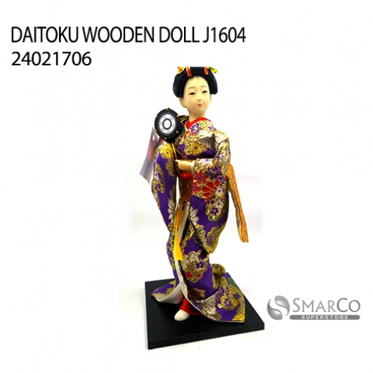 DAITOKU WOODEN DOLL J1604 24021706