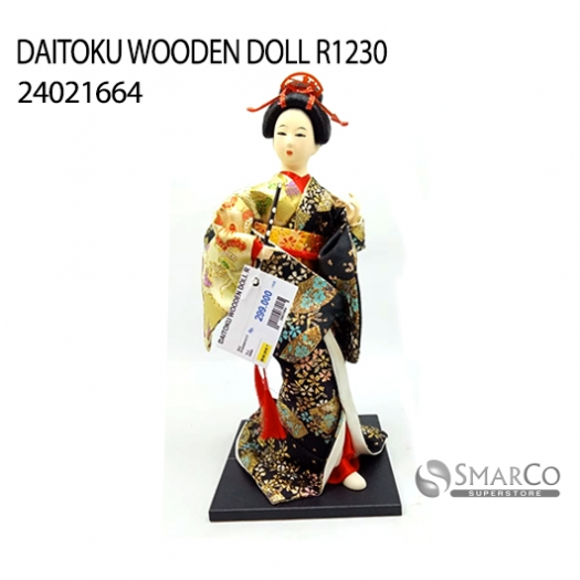 DAITOKU WOODEN DOLL R1230 24021664