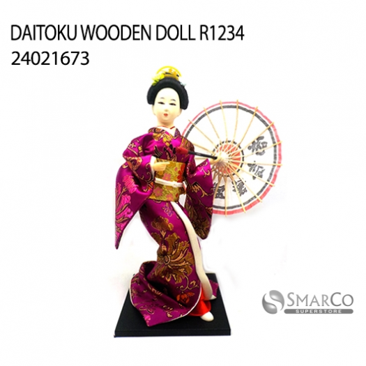 DAITOKU WOODEN DOLL R1234 24021673