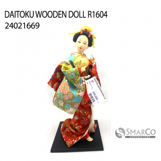DAITOKU WOODEN DOLL R1604 24021669