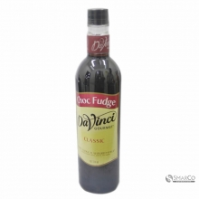 DAVINCI CHOCOLATE FUDGE 750 ML 1012040040077 9556592610390