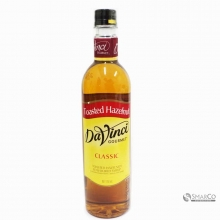 DAVINCI TOASTED HAZELNUT 750 ML 1012040040088 9556592610307