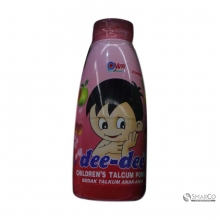 DEE TALCUM POWDER STRAWBERRY BOTOL 150 GR 6061010060538 8886030642944