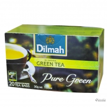 DILMAH ENV 20s GREEN TEA KOTAK 1014090030110 9312631143584