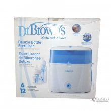 DR.BROWN DELUXE ELECTRIC BOTTLE STERILIZER (TYPE PLUG) 6061010030009 072239008560