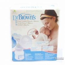 DR.BROWN MANUAL BREAST PUMP & WIDE-NECK 6061010060011 072239300510