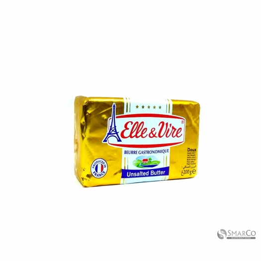 ELLE & VIRE BUTTER PACKETS UNSALTED 200 GR 3161911364531 1017030010003
