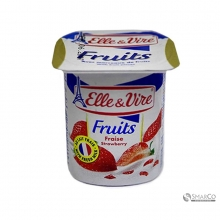ELLE & VIRE DESSERT LACTE STRAWBERRY CUP 1017160020015 3451790397509