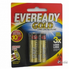 EVEREADY A91 AA BP2 GOLD 3032090040002 8999002691816