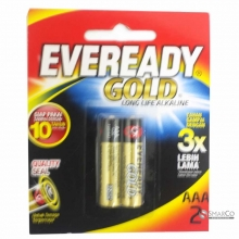 EVEREADY A92 AAA BP2 GOLD 3032090040003 8999002692417