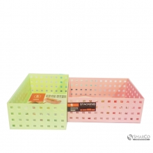 FACTORY PRICE PINK ABS STORAGE BOX PINK 10063245 8992017310956
