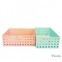 FACTORY PRICE PURPLE ABS STORAGE BOX PINK 10063244  8992017310963