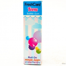 FRESH CARE TEENS BUBLE GUM 10 ML 1016080080090