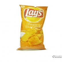 FRITOLAYS POTATO CHIPS LAYS CHEDDAR &SOU  1014050020378 028400152693