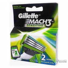GILLETTE MACH3 TURBO SEN CART 2SX12 X6 1015080040063 7702018041138