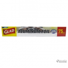GLAD ALUMUNIUM FOIL 75 FT 9556823000136