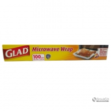 GLAD MICROWAVE WRAP 100 FT 012587610015