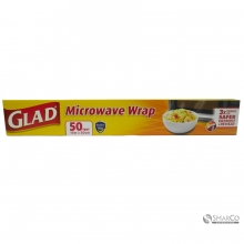 GLAD MICROWAVE WRAP 50FT 012587572092