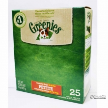 GREENIES DOG DENTAL TREATS PETITE BOX 642863102707 3033020020218