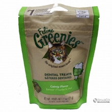 GREENIES FELINE DENTAL TREATS CATNIP 2.5 642863103223 3033020020211