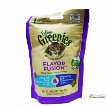 GREENIES FELINE DENTAL TREATS OCEAN FISH &TUNA 2.5 OZ 642863103247 3033020020214