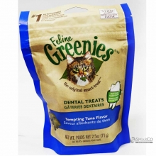GREENIES FELINE DENTAL TREATS TEMPTING T 642863101595 3033020020216