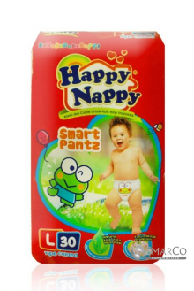 HAPPY NAPPY PANTZ L 30 SHEET 8992959077207