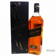 JOHNIE WALKER BLACK LABEL 1 LITER 1012060040255 5000267023601